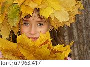 Купить «Портрет осени», фото № 963417, снято 11 октября 2008 г. (c) Смирнова Лидия / Фотобанк Лори