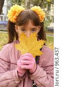 Купить «Взгляд осени», фото № 963437, снято 11 октября 2008 г. (c) Смирнова Лидия / Фотобанк Лори