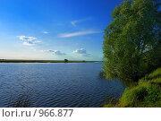 Озеро Тишь. Стоковое фото, фотограф Виталий Пушков / Фотобанк Лори