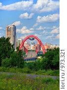 Купить «Живописный мост, Москва», фото № 973321, снято 11 июля 2009 г. (c) Fro / Фотобанк Лори