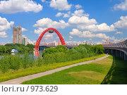 Купить «Живописный мост через Москву-реку», фото № 973629, снято 11 июля 2009 г. (c) Fro / Фотобанк Лори