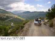 Купить «Сафари на джипе в Турции, Алания», фото № 977081, снято 28 апреля 2009 г. (c) Алексей Хромушин / Фотобанк Лори
