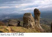 Купить «Горный пейзаж», фото № 977845, снято 3 мая 2009 г. (c) Юрий Брыкайло / Фотобанк Лори