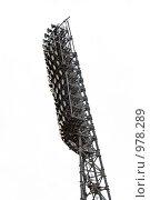 Купить «Прожекторы на футбольном поле», фото № 978289, снято 14 июля 2009 г. (c) Александр Давыдов / Фотобанк Лори