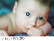 Купить «Лицо ребенка», фото № 979285, снято 15 октября 2007 г. (c) Алена Роот / Фотобанк Лори