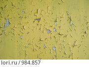 Купить «Потрескавшаяся краска», фото № 984857, снято 12 июля 2009 г. (c) Александр Шутов / Фотобанк Лори