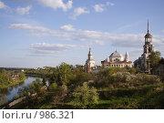 Борисо-Глебский монастырь (2008 год). Стоковое фото, фотограф Акимов Евгений / Фотобанк Лори