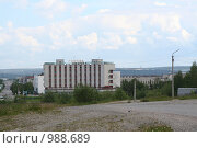 Город Оленегорск, Мурманская область (2009 год). Редакционное фото, фотограф Владимир Ионов / Фотобанк Лори