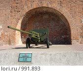 Купить «Нижегородский кремль, выставка боевой техники», фото № 991893, снято 18 августа 2018 г. (c) Александр Карачкин / Фотобанк Лори