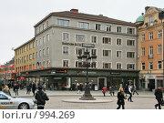 Купить «Городской пейзаж.  (Уппсала, Швеция)», фото № 994269, снято 16 марта 2009 г. (c) Александр Секретарев / Фотобанк Лори