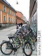 Купить «Городской пейзаж (Уппсала, Швеция)», фото № 994281, снято 16 марта 2009 г. (c) Александр Секретарев / Фотобанк Лори