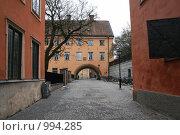 Купить «Городской пейзаж (Уппсала, Швеция)», фото № 994285, снято 16 марта 2009 г. (c) Александр Секретарев / Фотобанк Лори