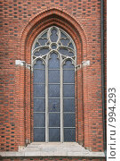 Купить «Городской пейзаж. Окно кафедрального собора. (Уппсала, Швеция)», фото № 994293, снято 16 марта 2009 г. (c) Александр Секретарев / Фотобанк Лори