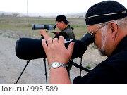 Купить «Орнитологи ведут наблюдение за птицами», фото № 995589, снято 15 июня 2009 г. (c) Александр Подшивалов / Фотобанк Лори