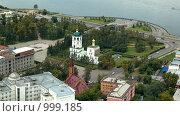 Купить «Иркутск, Нижняя набережная, Спасская церковь, польский костёл», фото № 999185, снято 21 августа 2007 г. (c) Аlexander Reshetnik / Фотобанк Лори