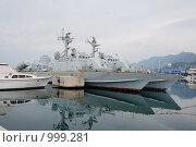 Военный флот Черногории (2009 год). Стоковое фото, фотограф Виктор Пивоваров / Фотобанк Лори