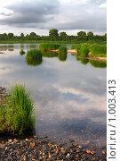 Река Томь. Стоковое фото, фотограф Виталий Меркулов / Фотобанк Лори