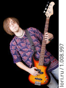 Купить «Гитарист», фото № 1008997, снято 1 ноября 2008 г. (c) Сергей Сухоруков / Фотобанк Лори