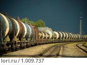 Поезд. Стоковое фото, фотограф Николайчук Антон / Фотобанк Лори