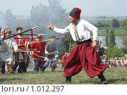 Купить «Азов, реконструкция осадного сидения казаков 1641 года», фото № 1012297, снято 1 августа 2008 г. (c) Александр Тихонов / Фотобанк Лори