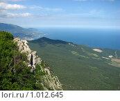 Вид на море. Стоковое фото, фотограф Терещенко Александр / Фотобанк Лори