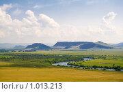Купить «Долина Белого Июса. Хакасия», фото № 1013213, снято 7 июля 2009 г. (c) Сергей Болоткин / Фотобанк Лори