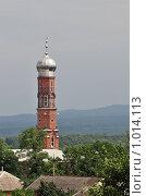 Купить «Чечня. Мечеть в селе Атаги», эксклюзивное фото № 1014113, снято 21 июля 2009 г. (c) Alexei Tavix / Фотобанк Лори