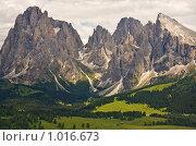Купить «Доломитовые горы, Альпы, Италия», фото № 1016673, снято 4 июля 2009 г. (c) Демчишина Ольга / Фотобанк Лори