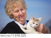 Купить «Портрет пожилой женщины», фото № 1018325, снято 12 апреля 2009 г. (c) Losevsky Pavel / Фотобанк Лори