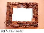 Купить «Рамка из дерева», фото № 1018625, снято 7 декабря 2008 г. (c) Losevsky Pavel / Фотобанк Лори