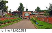 Купить «Можайский кремль на Никольской горе. Город Можайск», эксклюзивное фото № 1020581, снято 25 июля 2009 г. (c) lana1501 / Фотобанк Лори