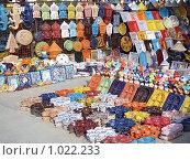 Купить «Тунисская керамика», фото № 1022233, снято 3 июня 2009 г. (c) Наталья Лукина / Фотобанк Лори