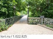 Киев, вид на парковый мост (2009 год). Редакционное фото, фотограф Алексей Котлов / Фотобанк Лори