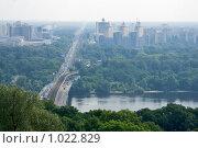 Купить «Киев, вид на левый берег Днепра», эксклюзивное фото № 1022829, снято 4 июля 2009 г. (c) Алексей Котлов / Фотобанк Лори