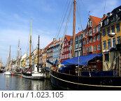 Гавань в Копенгагене (2008 год). Редакционное фото, фотограф Елена Снопова / Фотобанк Лори