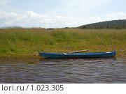 Рыбацкая лодка. Стоковое фото, фотограф Павел Спирин / Фотобанк Лори