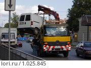 Эвакуатор автомобилей. Стоковое фото, фотограф gooclia / Фотобанк Лори