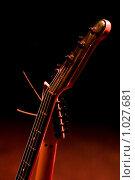Купить «Гриф гитары», фото № 1027681, снято 10 марта 2009 г. (c) Виталий Хайруллин / Фотобанк Лори