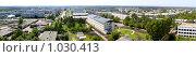 Купить «Панорама г. Берёзовский, Кемеровской обл.», фото № 1030413, снято 10 августа 2009 г. (c) Максим Попурий / Фотобанк Лори