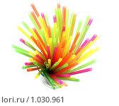 Купить «Пластиковые соломинки для коктейля», фото № 1030961, снято 12 августа 2009 г. (c) Irina Opachevsky / Фотобанк Лори