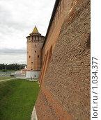 Крепостная стена и Маринкина башня. Коломенский кремль. (2009 год). Стоковое фото, фотограф Pavel S. Popov / Фотобанк Лори