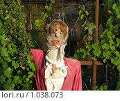 Купить «Чучело», фото № 1038073, снято 8 июля 2009 г. (c) Дмитрий Иванов / Фотобанк Лори