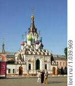 """Купить «Церковь """"Утоли моя печали""""», фото № 1039969, снято 11 августа 2009 г. (c) Антон Стариков / Фотобанк Лори"""