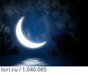 Купить «Ночь», иллюстрация № 1040085 (c) Лукиянова Наталья / Фотобанк Лори