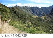 Купить «Мачу Пикчу  ( Machu Picchu )», фото № 1042729, снято 16 июня 2009 г. (c) Кирилл Трифонов / Фотобанк Лори