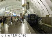 Купить «Станция метро Лиговский проспект», фото № 1046193, снято 31 июля 2009 г. (c) Яков Филимонов / Фотобанк Лори