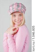 Портрет девушки в розовом. Стоковое фото, фотограф Леонид Козлов / Фотобанк Лори