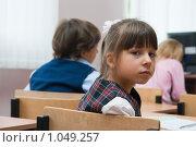 Купить «В школе на уроке», фото № 1049257, снято 20 августа 2009 г. (c) Оксана Гильман / Фотобанк Лори