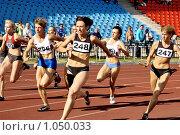 Купить «Эстафета», эксклюзивное фото № 1050033, снято 2 августа 2009 г. (c) Виктор Зиновьев / Фотобанк Лори