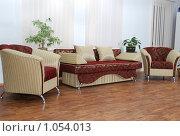 Софа и кресла. Стоковое фото, фотограф Гордиенко Олег / Фотобанк Лори